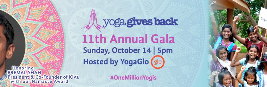 Yoga Gives Back 11th Annual Gala Hosted by Yogaglo