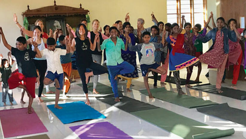 LA YOGA Feature Article by Kayoko Mitsumatsu, Founder/Executive Director, YGB. Kayoko shares insight from this year's first Seva Trip with eight global Ambassadors and Supporters visiting all YGB Programs in India